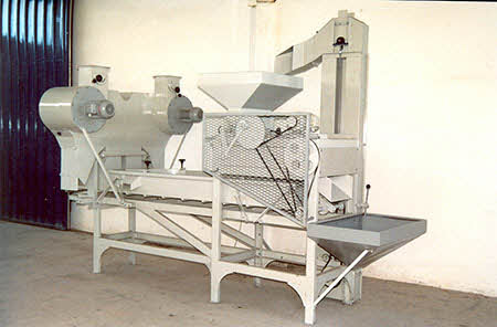 BIONOT SA418 Combined Cracking and Sorting Line 1976