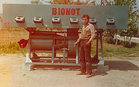 BIONOT AG2000 Nuts Dryer 1981