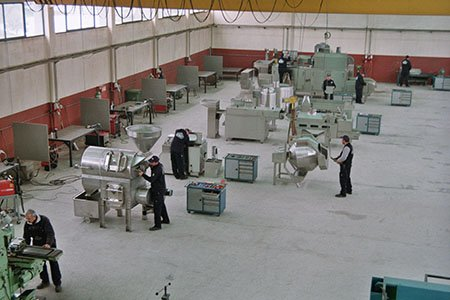 BIONOT FACTORY Employers Working 2000