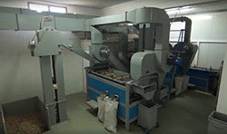 BIONOT PEANUTS CRACKING MACHINE AF1000 REAR