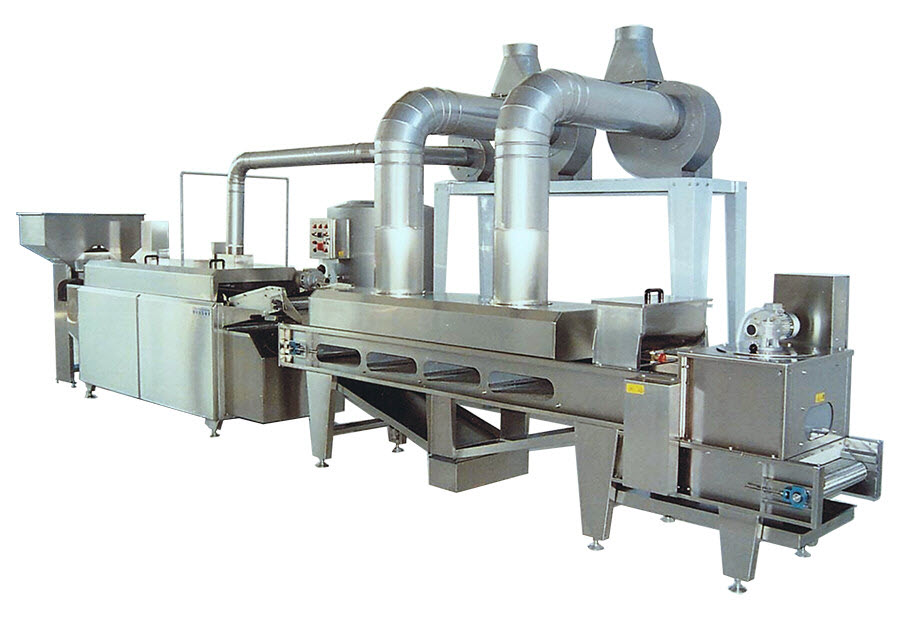 BIONOT Automatic Continuous line frying cooling salting NOT96S MEDIUM