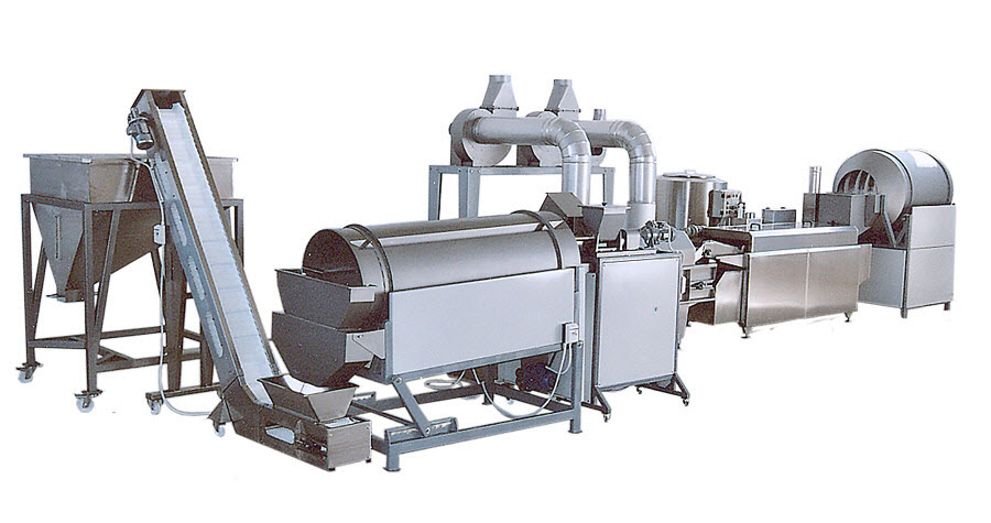 BIONOT FRYING COATING LINE