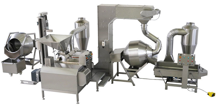 BIONOT ROASTING COATING LINE