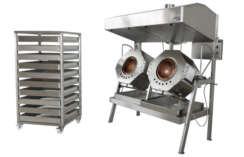 BIONOT CARAMEL ROTATING BATCH ROASTER NOT105
