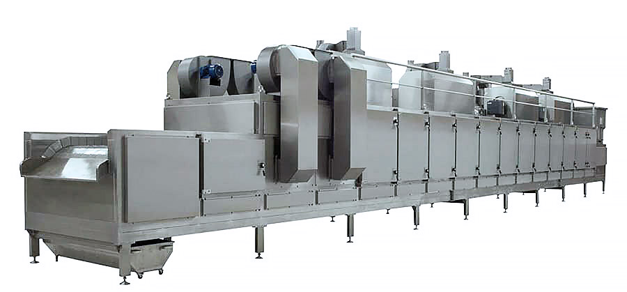 BIONOT CONTINUOUS AIR HEATING ROASTER NOT2000 GIGA