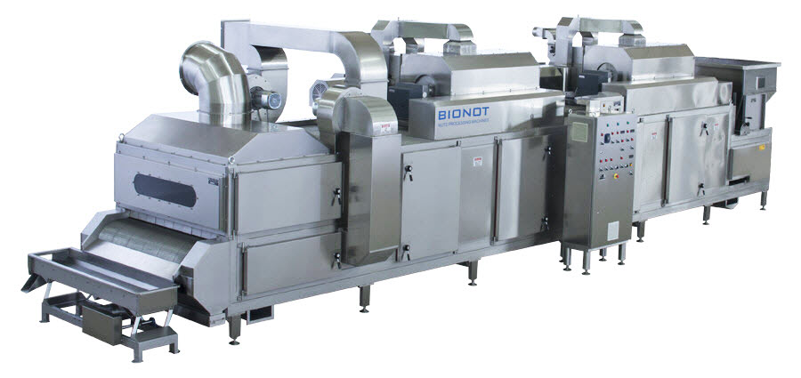 BIONOT CONTINUOUS AIR HEATING ROASTER NOT2000 BIG