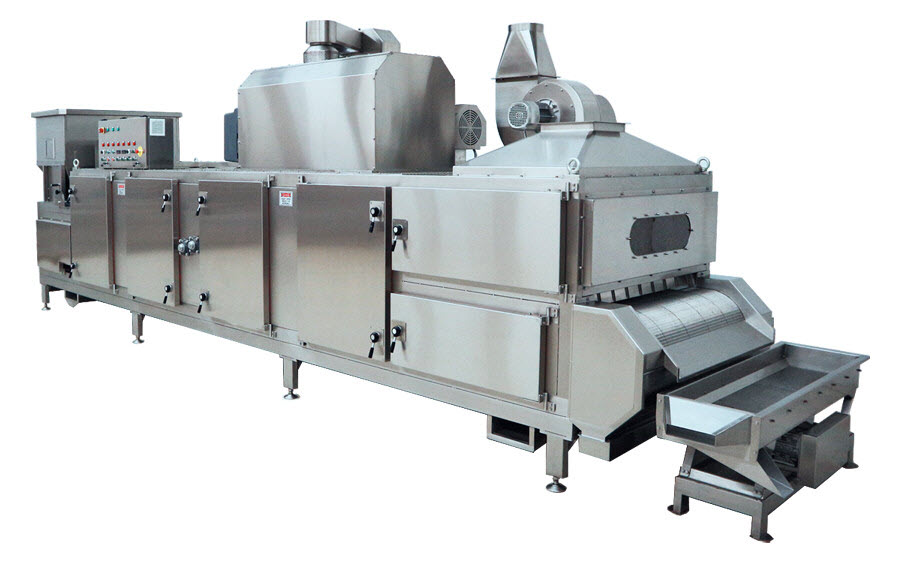 BIONOT CONTINUOUS AIR HEATING ROASTER NOT2000 SMALL